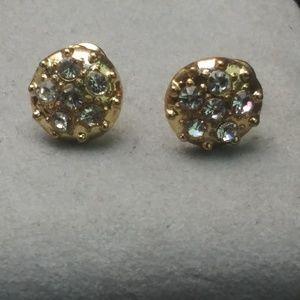 Jewelry - Yellow Gold Stud Earrings